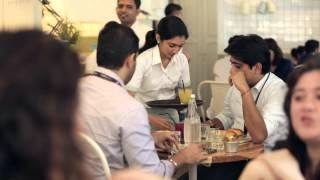 The Corner Table Trailer