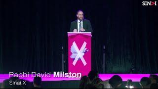 Rabbi David Milston: Open Source