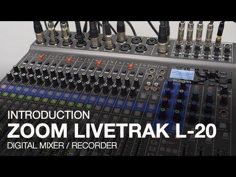 Zoom LiveTrak L-20: Introduction