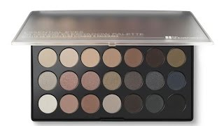 bh cosmetics essential eyeshadow palette review and demo