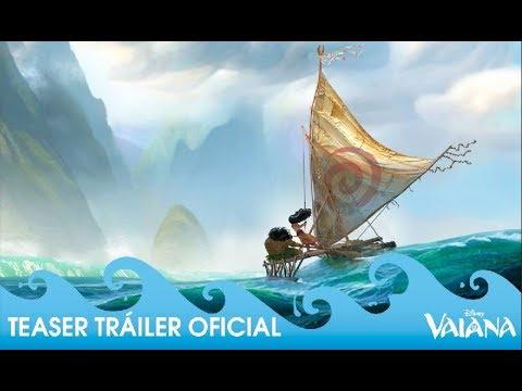 Vaiana - Teaser tráiler oficial en español Disney Oficial