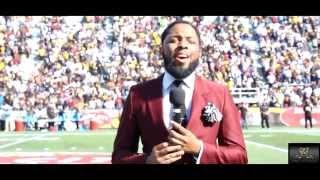 Yung Vokalz Performs National Anthem