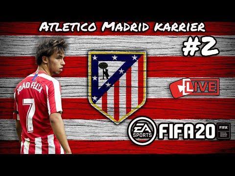 Folytatjuk a siker szériát a Milan ellen is?! | Atletico Madrid Coop Karrier FIFA 20 #2