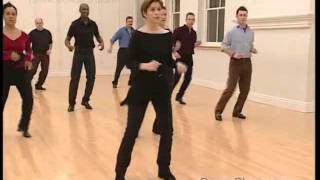 Salsa Basic Side Crossover Step to Music 16/22