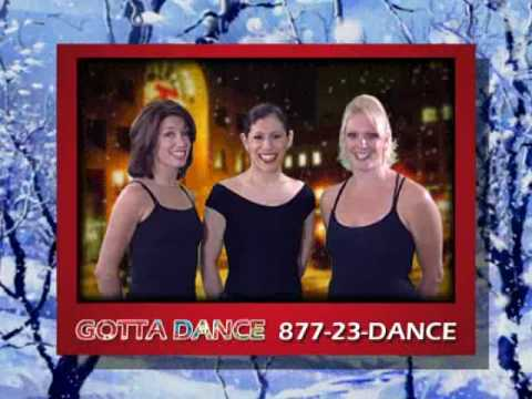 Gotta Dance Holiday Commercial