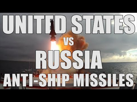 US Vs Russia: Anti-Ship Missiles Comparison
