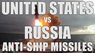 US vs Russia: Anti-Ship Missiles Comparison