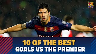 FC Barcelona goals against English clubs: The Best