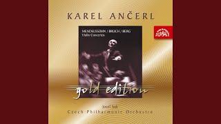 Concerto for Violin and Orchestra No. 1 in G minor, Op. 26 - Vorspiel. Allegro moderato (attacca)