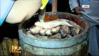 العاشرة مساء| إقبال شديد على شراء الفسيخ والرنجة في مركز نبروه بالدقهلية