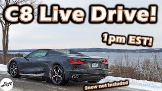 2020 Chevy Corvette – Live Drive!