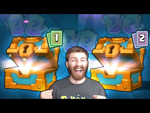 INSANE RARE DOUBLE MAX CLAN CHEST LEGENDARY OPENING! | Clash Royale | x2 LEGENDARY PULLS!