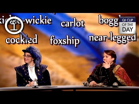 QI | Shakespearian Words That Didn't Catch On