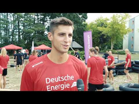 Deutsche Energie Teamevent Brückenbau