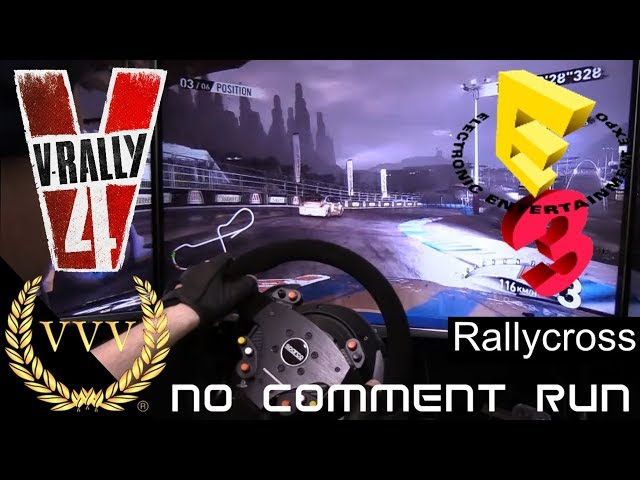 V-Rally 4 Gameplay, E3 2018 Rallycross China, no comment run