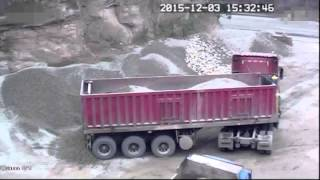 Truck Accident caused by Dangerous Operation of Tipper