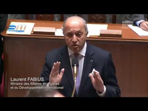 Conférence Climat 2015 : réponse de Laurent Fabius à l'Assemblée nationale (14/05/2014)