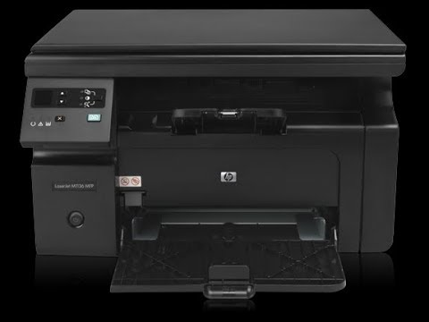 how can check hp lesar jet m1136 MFP PRINTER SELF TEST AND CONFIGURATION