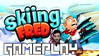 App of the Day: Skiing Fred Gameplay Android, iOS