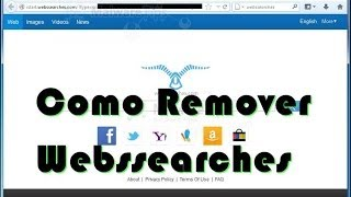 Como Remover Webs Searches