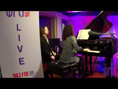 Live from the WRTI 90.1 Performance Studio: Maria Asteriadou & Kurt Nikkanen play Saint Saens Pt. 1