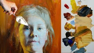 Portrait tips for beginners from Master of Fine Arts Sergey Gusev.