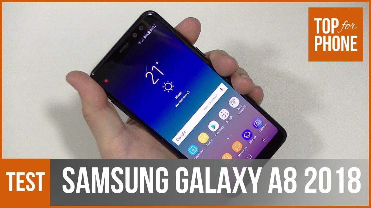 samsung galaxy a8 2018 test par topforphone youtube. Black Bedroom Furniture Sets. Home Design Ideas