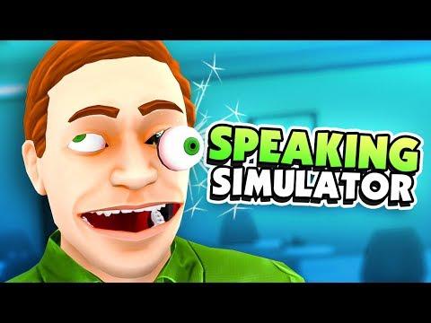 HOW TO SPEAK LIKE A HUMAN - Speaking Simulator Gameplay
