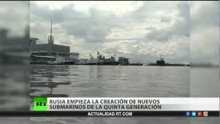 Rusia empieza a desarrollar submarinos nucleares de quinta generación