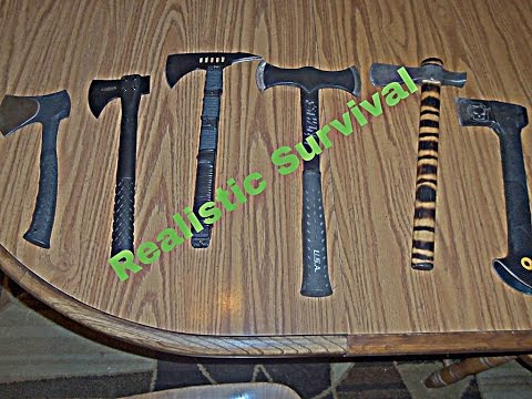 Picking A Hatchet For Survival On A Budget