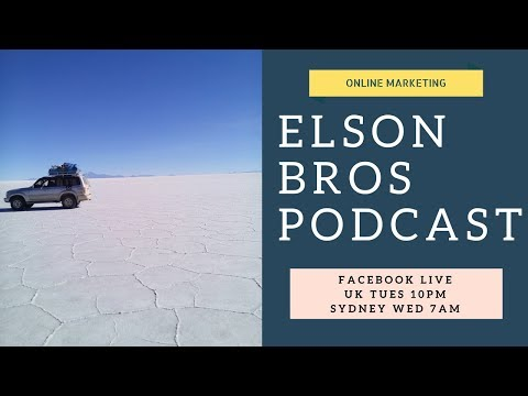 How To Interact With Your Brands Online Community With Passion! | THE ELSON BROS PODCAST EP 3