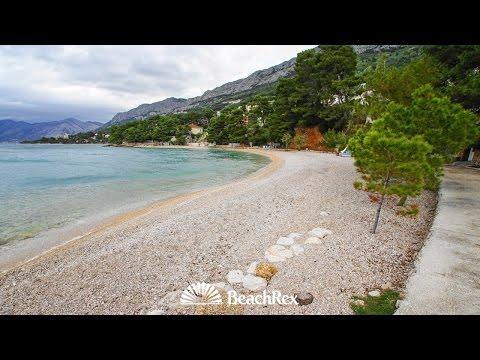 beach Berulia, Brela, Croatia