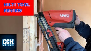 HILTI GX 90-WF Framing Nail Gun Review Cordless First Fix Gas Nailer