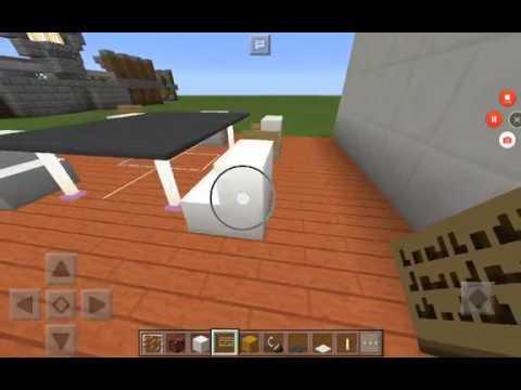 Como decorar un comedor de 10x10 minecraft pe youtube - Como decorar un comedor ...