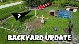 NEW MAJOR UPGRADES to BACKYARD ANIMAL ENCLOSURES!!!