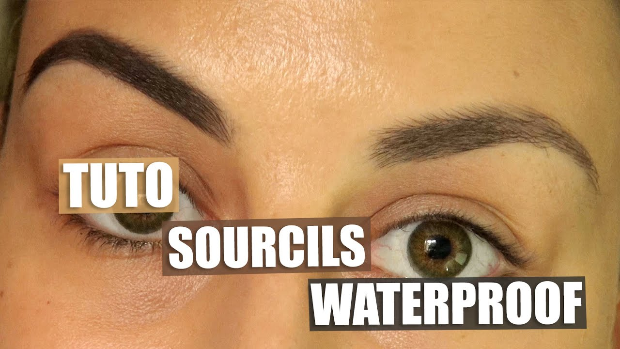 Top Tuto | Maquillage des sourcils waterproof ! - YouTube HR45