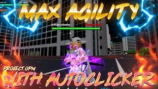 Project:OPM | WHAT HAPPENS WHEN A MAX AGILITY NINJA USES AUTOCLICKER?! | Roblox Project:OPM