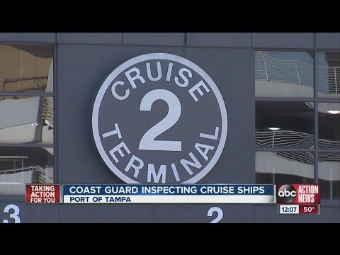 Coast Guard begins unannounced cruise ship inspections