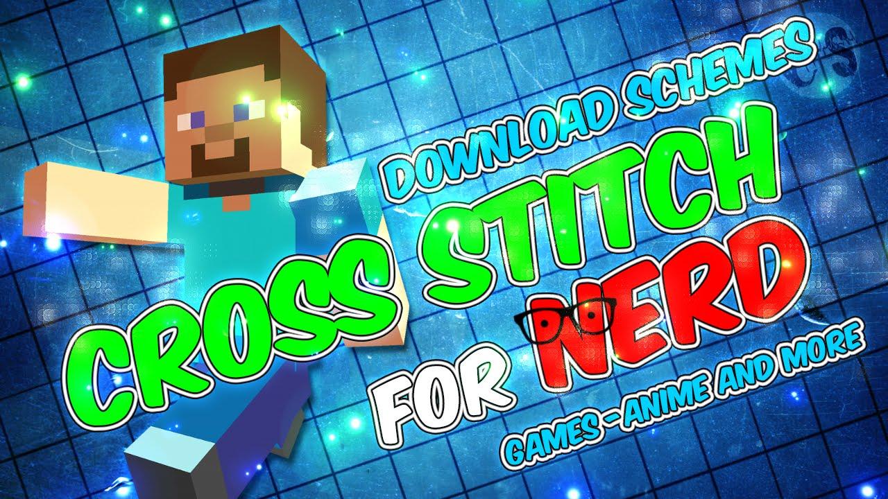 Superb Cross Stitch For Nerd   Minecraft [DOWNLOAD SCHEMES]