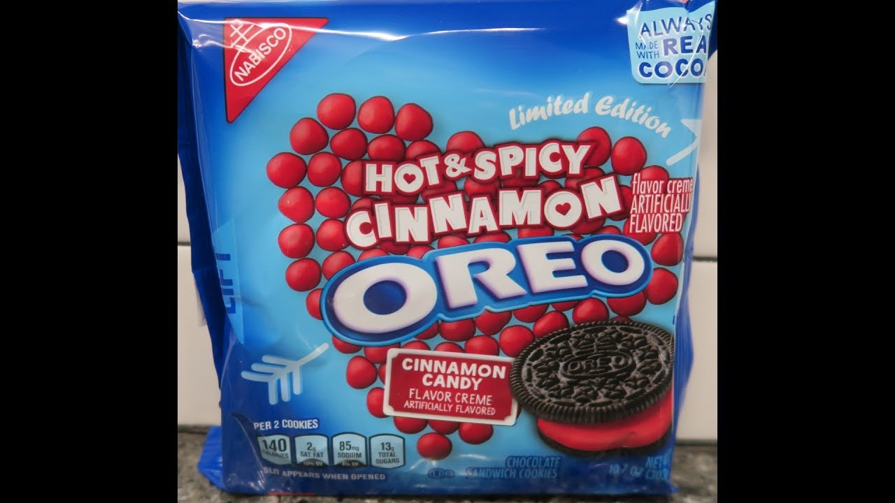 Hot Spicy Cinnamon Oreo Cookie Review