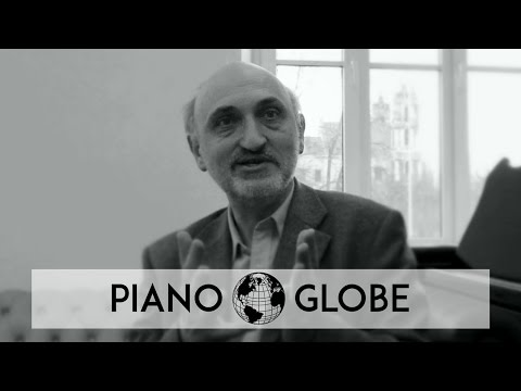 Interview-clip with Sergejus Okrusko, Piano Professor at Vilnius Conservatory
