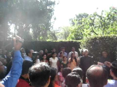 Indian Independence Day at Consulate General's residence in Houston