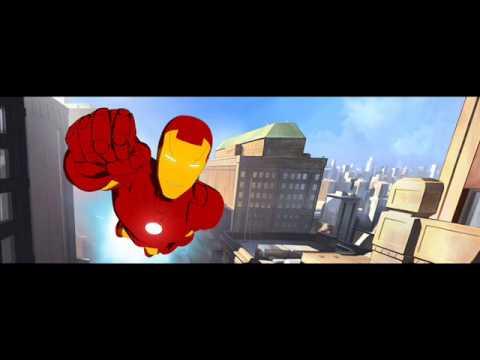 iron man armored adventures theme song.wmv