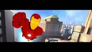 iron man armored adventures theme song.wmv