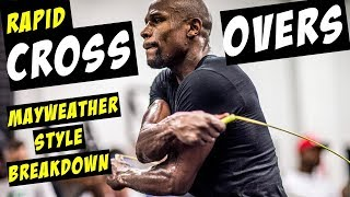 HOW TO MASTER CROSS-OVERS (AT SPEED!!) | MAYWEATHER JUMP ROPE TUTORIAL