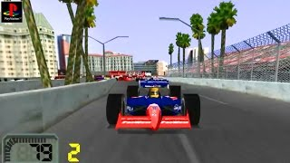 CART World Series - Gameplay PSX / PS1 / PS One / HD 720P (Epsxe)