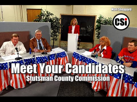 Meet Your Candidates Stutsman County Commission 2014