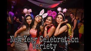 Happy new year celebration variety || Funzone Creation