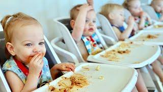 Baby&#39s First Spaghetti - Little Grandma&#39s Recipe - Bath Time Blitz