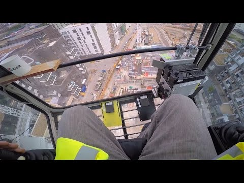 See London From The Top Of A Crane - BBC Britain - BBC Brit